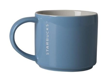Starbucks City Mug 2013 Blue Stacking mug 12 oz ( not US one!)
