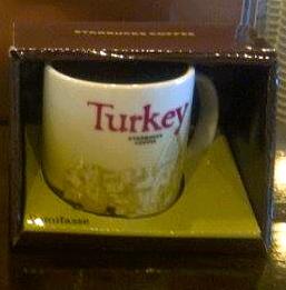 Starbucks City Mug Turkey Demitasse