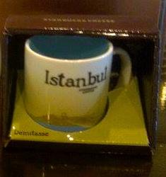 Starbucks City Mug Istanbul Demitasse