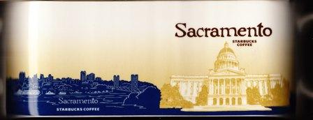 Starbucks City Mug Sacramento - California State Capitol