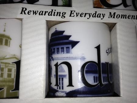 Starbucks City Mug Bandung Mini Mug