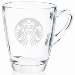 Starbucks City Mug Starbucks Siren Logo Glass