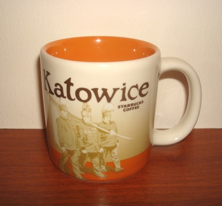 Starbucks City Mug Katowice Demitasse Mug