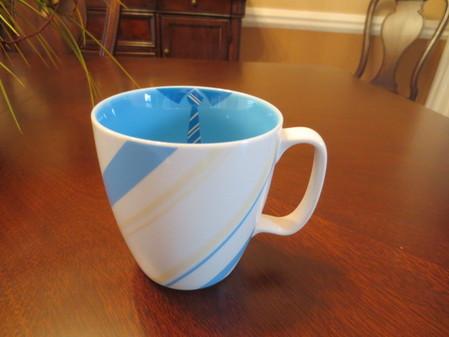 Starbucks City Mug Blue striped Tie