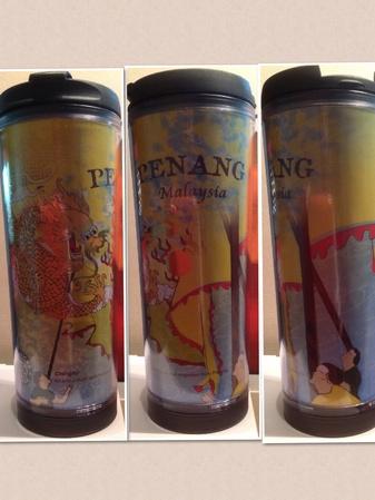 Starbucks City Mug Penang - Chingay