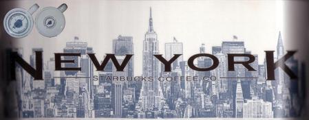 Starbucks City Mug New York - The Big Apple 18 oz Mug