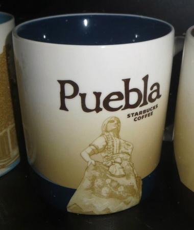 Starbucks City Mug Puebla