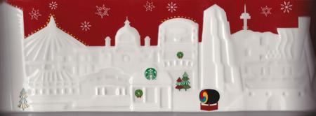 Starbucks City Mug 2013 Seoul Red Relief
