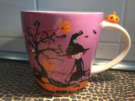 Starbucks City Mug Little witch mug 2013- 12oz