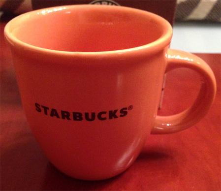 Starbucks City Mug Orange Abbey Mug