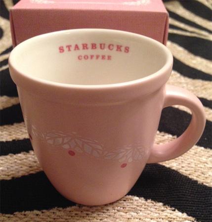 Starbucks City Mug Pink Wedding Mug