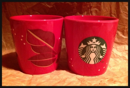 Starbucks City Mug 2013 Christmas Blend Tasting cup