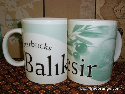 Starbucks City Mug Balikesir