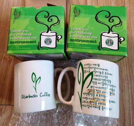 Starbucks City Mug Korea environment promotion mug