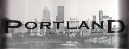 Starbucks City Mug Portland - The City Of Roses 18 oz Mug