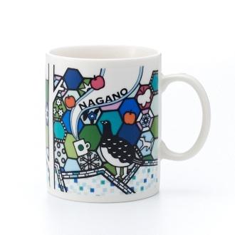 Starbucks City Mug 2013 Nagano mug