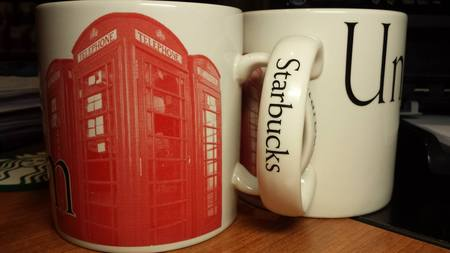 Starbucks City Mug United Kingdom-Made in England