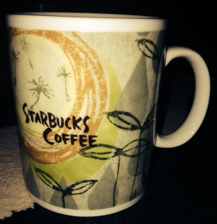 Starbucks City Mug Rain and Buds
