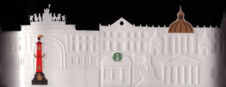 Starbucks City Mug St. Petersburg Relief Mug