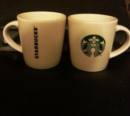 Starbucks City Mug Taster Cup - Handle Siren with logo