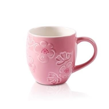 Starbucks City Mug 2014 Pink Peach Blossom Mug