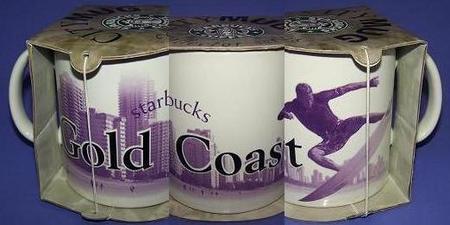 Starbucks City Mug Gold Coast - made in China
