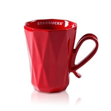 Starbucks City Mug 2014 CNY Red Pondering Dream Mug