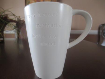 Starbucks City Mug Fresh Brewed Inspiration for the Day Ahead