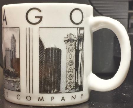 Starbucks City Mug Chicago Demitasse