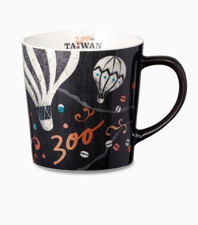 Starbucks City Mug Taiwan 300th Store Anniversary mug