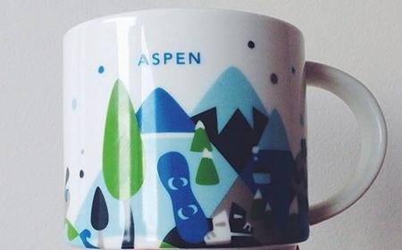 Starbucks City Mug You Are Here in Aspen