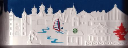 Starbucks City Mug Qingdao Relief Mug