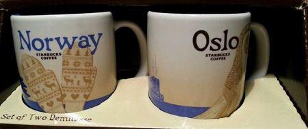 Starbucks City Mug Norway demitasse