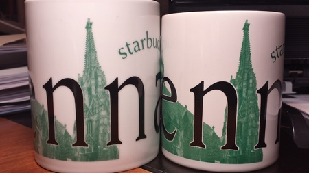 Starbucks City Mug Vienna-Made in Thailand
