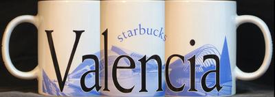 Starbucks City Mug Valencia