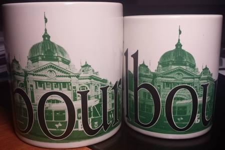 Starbucks City Mug Melbourne - made in Thailand 12 oz