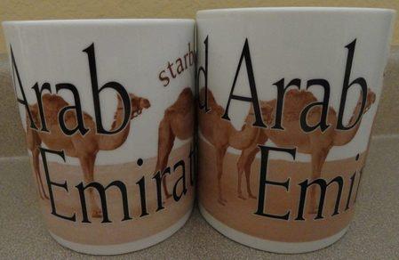 Starbucks City Mug United Arab Emirates 4 - Made in China  2009