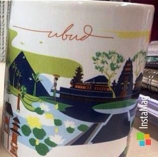 Starbucks City Mug Ubud