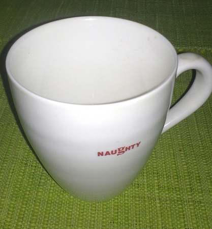 Starbucks City Mug 2004 NAUGHTY