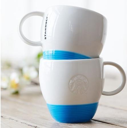 Starbucks City Mug 2014 Blue Artful mug 12oz