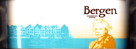 Starbucks City Mug Bergen - Edvard Grieg