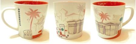 Starbucks City Mug Taiwan First Drive Thru store mug