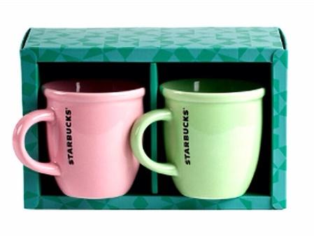 Starbucks City Mug 2014 7 Oz. Abbey Mug: Pink