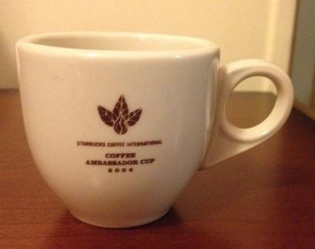 Starbucks City Mug 2004 International Ambassador Espresso Cup