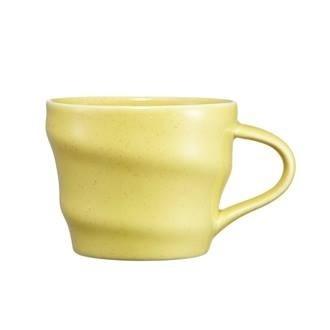 Starbucks City Mug 2014 Yellow Swirl mug
