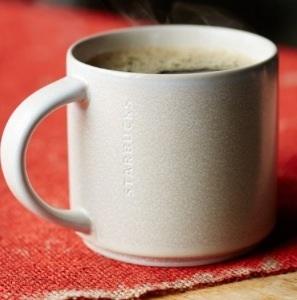 Starbucks City Mug Stacking Mug Sand 14oz