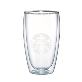 Starbucks City Mug 2014 Large Double-Walled Logo Glass