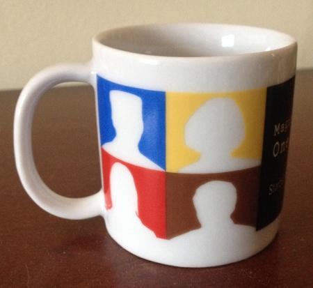 Starbucks City Mug 2003 Leadership Conference Demitasse