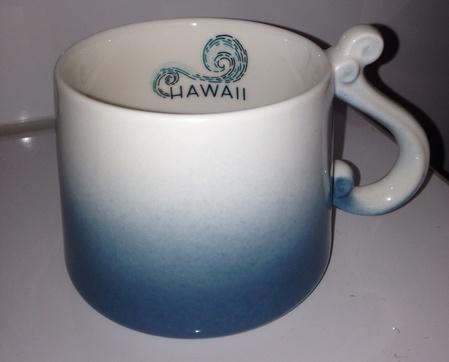 Starbucks City Mug Hawaii Wave Handle Mug 8oz