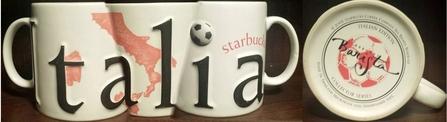 Starbucks City Mug Italia II 2002
